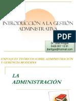 Gestion Administrativa Artigas Jose