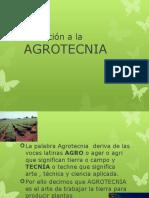 Introducción a La Agrotecnia