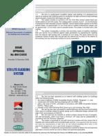 StoLite Detail - BRANZ Appraisal No. 468 [2005]