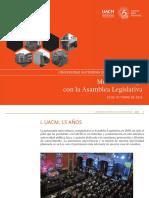 Informe Rector de la Universidad de la Ciudad de México