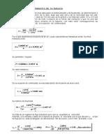 Cálculo Del Diámetro de La Tubería