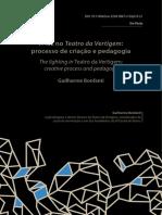 BONFANTI, Guilherme - A Luz No Teatro Da Vertigem