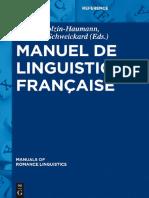 Manuel de linguistique française.pdf