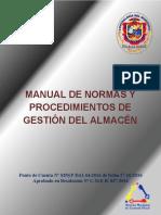 Manual de Normas y Procedimientos de Gestion de Almacen