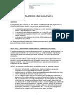 Propuesta de ANESCO, 13 de Julio de 2015