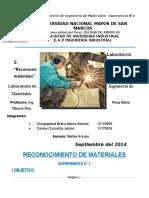 LABORATORIO Nº2 Ing de Materiales