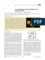 Formation Mechanisms of Graphitic-N Oxygen Reduction and Nitrogen Doping of Graphene Oxides