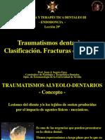 Lecciones 29 -Traumatismos Dentarios I