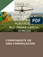 Formulacion y Aplicacion de Plaguicidas