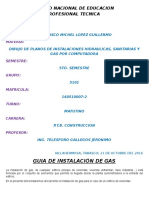 Instalación de Gas
