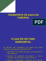 Transporte de Agua en Tuberias