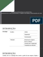 Slide de estudo do artigo de embalagens maxiplast ltda
