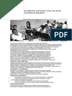 Enfoque Sistemico Proyecto Didactico