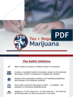 Holyoke Mayor Alex Morse's intended slide presentation about marijuana question: