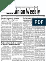 The Ukrainian Weekly 1989-09