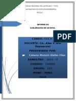 Informe de Practicas - 2