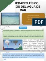 Propiedad Físico Químicos de Agua de Mar