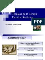 Tecnicas de La Terapia Familiar Sistemica