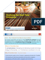 Realizing the Real-Time Enterprise by Ben Van Der Merwe