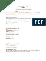 Autoevaluación 1 Derecho Romano