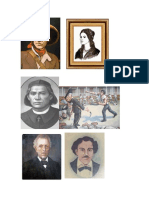 Heroes Nacionales de Nicaragua