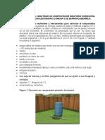 Método 1 Contruir Un Compostador Giratorio Horizontal