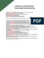 Glosario Ilustrado de Terminos Odontologicos