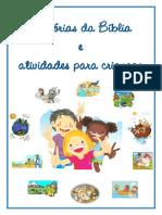 Histórias Da Bíblia e Atividades Para Crianças