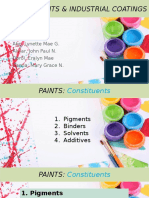 Paints Pigments Industrial Coatings