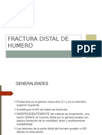 Fracturas Distal Humeral