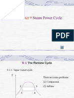 Chapter 9 Steam Power Cycle