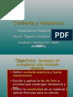 ( 6 ) Resistencias y Corrientes Tippens_fisica