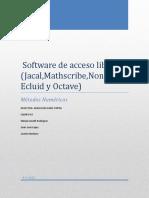 MetodosNumericosSoftwaredeAccesoLibre