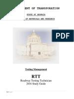 Rtt Study Guide