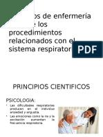 Cuidados Basicos de Enfermeria en Patologias Del Sistema Respiratorio