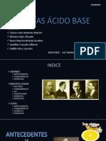 Teorías Ácido Base (3)