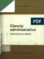 ciencias administrativas debbasch