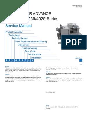 184158684-IR-4051-4045-4035-4025-Service-Ma-nual | Electrical