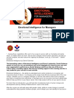 Emotional Intelligence for Managers