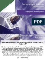 Criptografia de FS