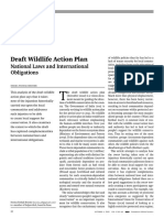 Draft Wildlife Action Plan