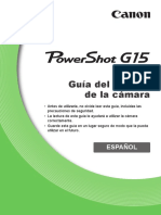 PowerShot G15 Camera User Guide ES