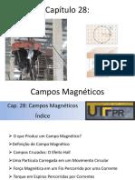 Aula - Campos Magneticos - Cap 28 Halliday