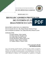 Biomarcadores Proteicos de Interés en El Diagnóstico Clínico