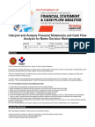 Interpret and Analyse Financial Statements and Cash Flow Analysis for Better Decision Making