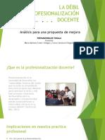 La Debil Profesionalizacion Docente 74528ffa251