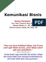 0. Introduksi Komunikasi Bisnis