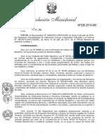 RM 226-Proyecto de Reglamento de Investigaciones Arqueologicas.