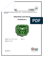Evidencia 5 - Motores Monofasicos CA
