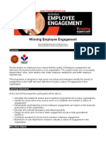 Winning Employee Engagement